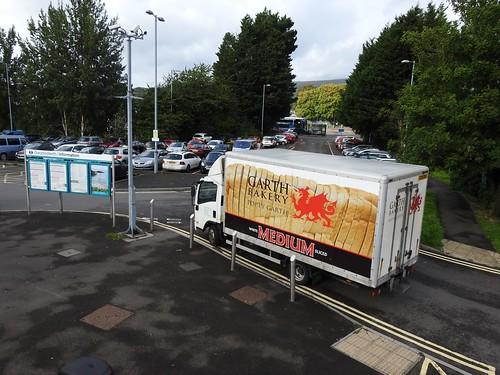 Baker's Van, Railway Station, Grange Road, Cwmbran 19 September 2018