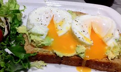 Poached Eggs on Avocado and Brown Bread (Tony Worrall) Tags: add tag ©2018tonyworrall images photos photograff things uk england food foodie grub eat eaten taste tasty cook cooked iatethis foodporn foodpictures picturesoffood dish dishes menu plate plated made ingrediants nice flavour foodophile x yummy make tasted meal nutritional freshtaste foodstuff cuisine nourishment nutriments provisions ration refreshment store sustenance fare foodstuffs meals snacks bites chow cookery diet eatable forsale stock buy image foodphotography buynow sale sell