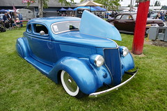 Best of Show (bballchico) Tags: 1936 ford coupe awardwinner bestofshow billetproofwashington carshow custom chopped