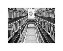The Arcade in Providence, R.I. (BlueisCoool) Tags: flickr foto photo image capture picture photography canon powershot bw building interior strawberry shops ri blackandwhite microlofts microapartments nationalhistoriclandmark thearcade arcadeprovidence theprovidencearcade thewestminsterarcade thecreativecapital theoceanstate providenceri rhodeisland newengland