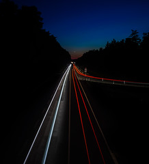 Highway to Mars (Bauer Florian) Tags: sony ilce7rm2 fe 1635mm f4 za oss langzeitbelichtung long time night highway cars lights ngc