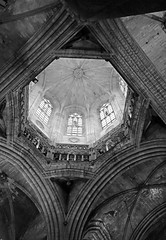 Barcelona (Tpstearns) Tags: monochrome blackandwhite bw church barcelona