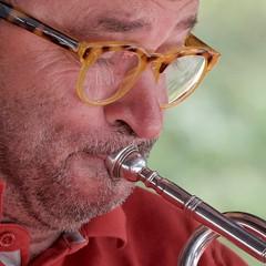 Harlem Rhythm Band - Pierre Fournier (Patrick Doreau) Tags: harlemrhythmband jazz grenoble musicien festival pléneufvalandré bretagne trompette vocal