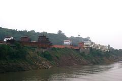 Barges (hugh llewelyn) Tags: yangtzeriver