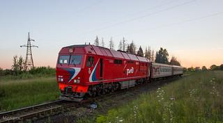 ТЭП70БС-143, перегон Гаврилов-Посад-Петровский, Ивановская область