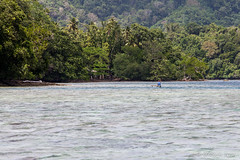Outrigger on the Water 3274 (Ursula in Aus - Travelling) Tags: jimclinephototour milnebay png papuanewguinea tawali