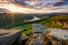 Bamford Sunset (MDJL Landscapes) Tags: peakdistrict nationalpark bamfordedge sunset ladybower reservoir landscape nikon