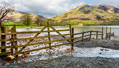 Buttermere and distant Goat Crag. (steve.gombocz) Tags: sceneryshooting simplylandscapes landscapes cumbria westcumbria colour colours color colourmania natureisbeautiful lakedistrict lakedistrictuk out outandabout outdoors landscapephotos landscapephotographs landscapephotography water reflections reservoirs scenery landscapescenes mountain hills crags fells buttermere nature naturesviews lakescene fence woodenfence landscapepicture nicepicture nicelandscape flickrlandscapes flickrscenery explorelandscapes explorescenery explorelakes lakes green nikon nikond810 nikoncamera nikonfx nikonusers nikoneurope nikon140240mmf28 tree clouds
