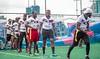 DSC_8566 (gidirons) Tags: lagos nigeria american football nfl flag ebony black sports fitness lifestyle gidirons gridiron lekki turf arena naija sticky touchdown interception reception