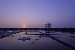 _DSC1398_00006 (熱冰塊) Tags: 台南 北門區 井仔腳瓦盤鹽田 夕陽