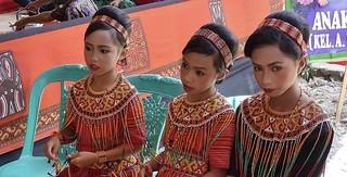 INDONESIEN, Sulawesi - Traditionelle Totenfeier der Toraja bei Makale, 17642/10653