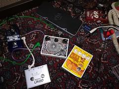Pedals (shortscale) Tags: fuzz pedal fuzzmarine 78icmuff bigmuff fulltone 69 ehx slammi digitech jamman omnitronic lh110