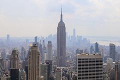 Desde Top of the rock (Juan Escalona Merello) Tags: empire state top rock rockefeller center nyc new york manhattan skyline