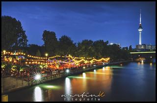 Abend am Monbijou-Park