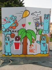 Les Oides (Festival BOUGE 2018) (emilyD98) Tags: street art saint nazaire insolite mur wall graff graffiti tag les oides festival bouge skatepark urban exploration explore rue