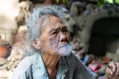 Lola Renee (vincent.lecolley) Tags: old grandma beautiful smoke smoking asia asian philippines world travel traditionnal culture d3300 50mm 18 nikon ngc nationalgeographic