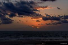 Sunset over Berck sur mer (DirkVandeVelde back , and catching up) Tags: europa europ europe frankrijk france côtedopale bercksurmer sunset atardecer sony outdoor nordpasdecalais sea strand buiten beach plage wolken lucht zon zonsondergang