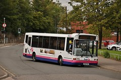First Glasgow RG51 FXH (41410) | Route M60 | Clydebank Bus Station, W. Dunbartonshire (Strathclyder) Tags: first glasgow firstglasgow dennis dart slf marshall capital rg51 fxh rg51fxh 41410 clydebank chalmers street west dunbartonshire scotland willowleaflivery scotstoun firstlondon firstcentrewest dml410 dml41410