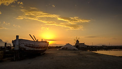 St. James boat - Trapani - Italy (I. Bellomo) Tags: boat museo sale salt trapani salina culcasi sea mare mediterranean fujifilm