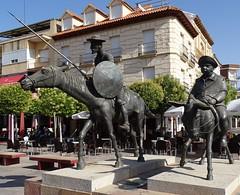 Escultura Don Quijote de la Mancha y Sancho Panza Alcazar de San Juan Ciudad Real (Rafael Gomez - http://micamara.es) Tags: escultura don quijote de la mancha y sancho panza alcazar san juan ciudad real