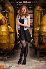 Marieke (Victor van Dijk (Thanks for 5M views!)) Tags: marieke model female girl woman portrait landschaftspark women girls pose portret duisburg germany environmentalportrait urbex fav fave faved favorite redhead ginger