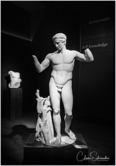 National Archaelogical Museum - Athens (Heathcliffe2) Tags: diadoumenos statue sculpture art ancient old greece greek athens attica national archaeological museum athlete youth body nude divine sculptor male man boy bust marble relic επιγραφικό μουσείο