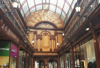 Central Arcade - Architectural Design Features - Newcastle-Upon-Tyne