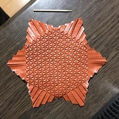 (kz_miu910) Tags: 折纸 摺紙 tessellations origamitessellations origami おりがみ 折り紙