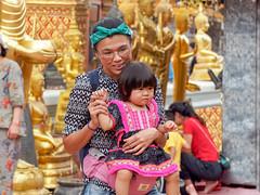 Mother with child...Wat Phrathat Doi Suthep .. Chiang Mai (geolis06) Tags: geolis06 asia asie thaïlande olympus chiangmai doisuthep watphrathatdoisuthep bouddhisme bouddha buddhism religion pilgrim pélerin prière prayer statue