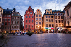 Stortorget (litrator) Tags: stockholm sweden sverige city old town light lightning evening night colors cozy architecture buildings europe gamla stan