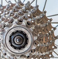 Cogwheel - [MacroMondays_20180917] (Arranion) Tags: cogwheel gear gears macromonday macromondays shimano canon macro closeup cassette rear bicycle road bike pedal power 5d2