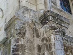 Abbaye royale Saint-Vincent (XIe-XIXe), Nieul-sur-l'Autise (85) (Yvette G.) Tags: chapiteau vendée 85 paysdelaloire architecture artroman église nieulsurlautise abbaye