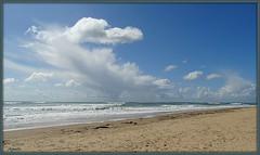 The end of summer ! (Armelle85) Tags: extérieur nature paysage ciel mer océan eau plage nuage