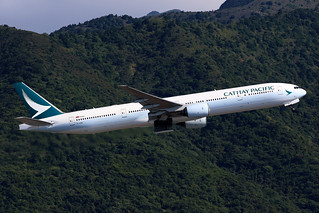 B-HNM, Boeing 777-300, Cathay Pacific, Hong Kong