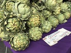 Artichokes from Suncoast Farms (TomChatt) Tags: food farmersmarket