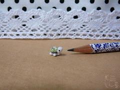 132-kiwi turtle 10mm (2) (tinyteensdolls) Tags: amigurumi crochet craft crochettoy crochetmini crochetminiature toy tiny threadcrochet tinyamigurumi turtle miniature mini microcrochet micro minicrochet miniamigurumi kiwi crochetturtle