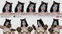 SEmotion Kitty Face & Paws Mood AO HUD (Marie Sims) Tags: semotion ao hud animation anim pose posing aohud bento face mood animated paws whiskers cat neko kitty kitten ears kittykat modeling model slavatar slfashion secondlife sl