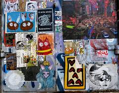 streetart in Amsterdam (wojofoto) Tags: pasteup streetart amsterdam nederland netherland holland wojofoto wolfgangjosten wojo ndsm