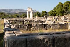 Epidavros   Ἐπίδαυρος   Epidaurus-18 (Paul Dykes) Tags: epidaurus ἐπίδαυροσ epidauros ancientgreece archaeologicalsite argolis argolid greece peloponnese theatre asclepeion asclepius