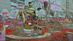 BaikalReise 75m (wos---art) Tags: bildschichtung russland transsibirische eisenbahn historisch ausgemustert stillgelegt schrottplatz ausgestellt präsentiert maschinengeschichte