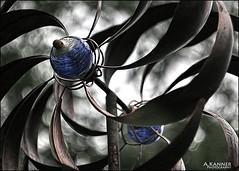 Garden Wind-Spinner... (angelakanner) Tags: canon70d carl zeiss vintage lens garden longisland closeup windspinner