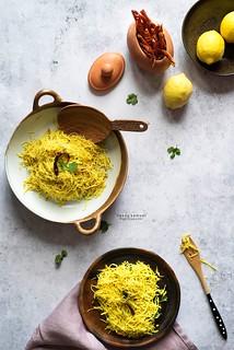 Brown Rice Lemon Vermicelli
