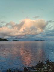 Clouds over Näsijärvi (PeepeT) Tags: näsijärvi tampere finland cloud pilvi järvi lake sunset auringonlasku syksy autumn fall