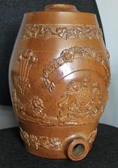 FLAGON (old school paul) Tags: vintage flagon barrel bottle wine cask