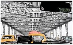 Rabindra Setu, the Howrah Bridge of Kolkata (Ramalakshmi Rajan) Tags: kolkata bridge nikon nikond5000 nikkor18140mm travel india