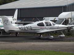 N521CD Cirrus SR22 G3 GTS Turbo (Assegai Aviation Inc Trustee) (Aircaft @ Gloucestershire Airport By James) Tags: gloucestershire airport n521cd cirrus sr22 g3 gts turbo assegai aviation inc trustee egbj james lloyds