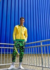 IMG_7469 (chaaarleneang) Tags: nike turtleneck yellow green blue walls ikea sporty fashion men