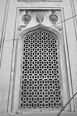 White and Black. (Gattam Pattam) Tags: jali blackandwhite architecture hyderabad india charminar light shadow pattern dark old monument mathematics heritage tangible