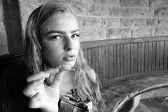 Vintage Cheddar (plot19) Tags: margrave yorkshire plot19 photography portrait britain british blackwhite black cheddar vintage olivia love light liv dales daughter england english north northern northwest teenager family day sony rx100