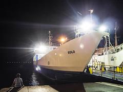 ferry boat #3 (FloBue) Tags: 2018 sardegna sardinien sardinia boat boot faehre traghetto nave ferry nacht night notturno isoladisanpietro carloforte blacksky olympus